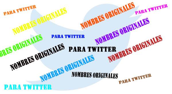Lista De Nombres Originales Y Divertidos Para Twitter 2019